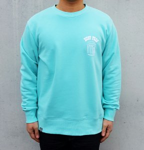 [DUST PROF] Crewneck Sweatshirts (MINT BLUE)