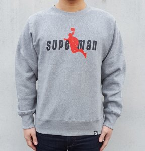 [SUPERMAN DUNK] Crewneck Sweatshirts (GREY)