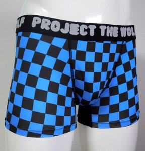 [FLAG] Boxer pants (BLUE)