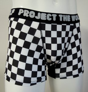[FLAG] Boxer pants (WHITE)