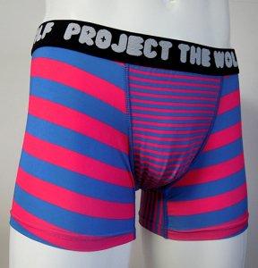 [BORDER] Boxer pants (PINK)