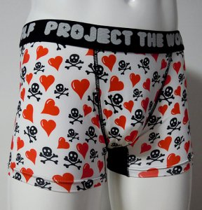 <img class='new_mark_img1' src='https://img.shop-pro.jp/img/new/icons5.gif' style='border:none;display:inline;margin:0px;padding:0px;width:auto;' />[SKULL HEART] Boxer pants (WHITE)