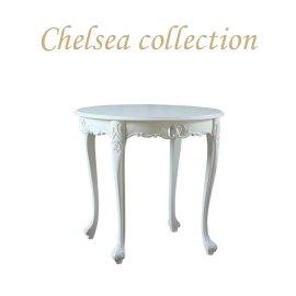 ラウンドテーブル ホワイト 4235-8-180 リプロ B 80*80*10