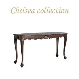 サイドテーブル 幅150cm ブラウン 4235-4-50 リプロ B 150*40*10