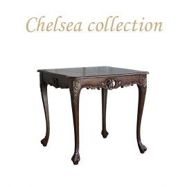 サイドテーブル 幅80cm ブラウン 4235-9-50 リプロ B 80*80*10