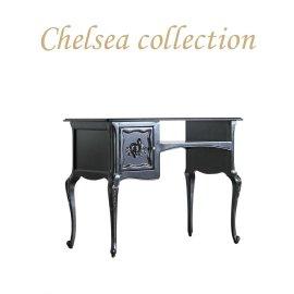 ネイルテーブル ブラック 幅103cm 7018-8 リプロ C 100*50*78