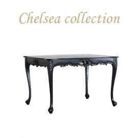 ダイニングテーブル ブラック 4235-1.2-8 リプロ C 120*90*10