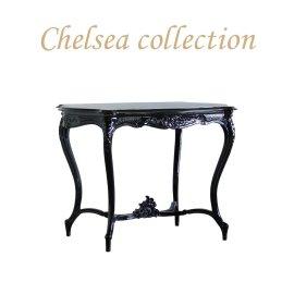サイドテーブル ブラック 4226-8 リプロ C 105*68*75