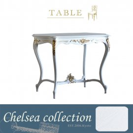 サイドテーブル ホワイト ゴールドポイント 4226-18g リプロ C 105*68*75