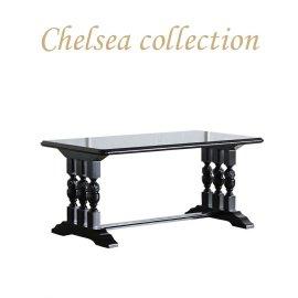 ローテーブル ブラック ブルボーズレッグ  2026-8 リプロ C 110x60x50