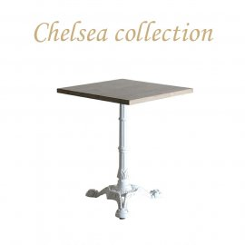 カフェテーブル 60cm角 3本脚 オーク材 プラスターウッド ホワイト frt1-60s-lw-1 リプロ