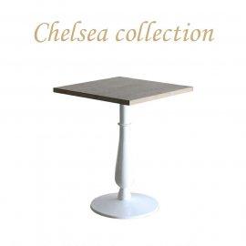 カフェテーブル 60cm角 丸脚 オーク材 プラスターウッド ホワイト frt1-60s-lw-3 リプロ