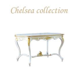 サイドテーブル ホワイト ゴールドポイント 4226-s-18g リプロ C 105*68*57