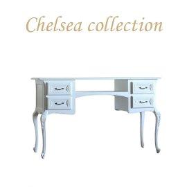 ネイル テーブル 幅130cm クラシック ホワイト 7017-18 リプロ C 130*50*70