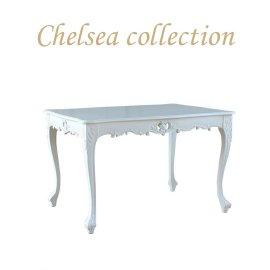 ダイニングテーブル ホワイト 4235-1.2-18 リプロ C 120*90*10