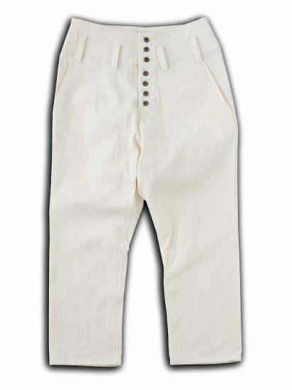 タポタポ海軍パンツ ホワイト(unisex)