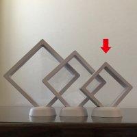 透明フレーム(ホワイト)小 5個セット