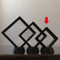 透明フレーム(ブラック)小 5個セット