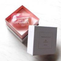 【箱入り宝石石鹸10-BV】ローズクォーツ〜ピンク&パープル系カラー〜