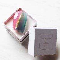 【箱入り宝石石鹸11-BT】トパーズ〜ブルー&ピンク系カラー〜