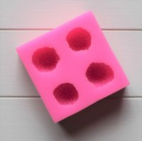 【シリコン】イチゴモールド(ピンク)