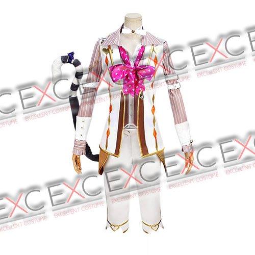 夢王国と眠れる100人の王子様 チェシャ猫 太陽覚醒 風 コスプレ衣装