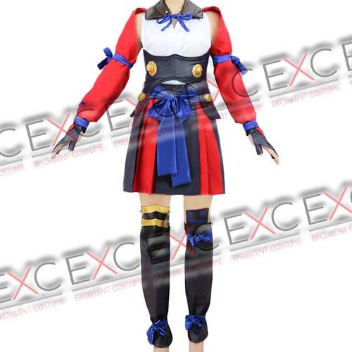 甲鉄城のカバネリ 無名(むめい) OP 戦闘服 風 コスプレ衣装