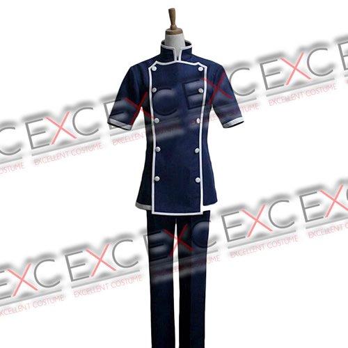 食戟のソーマ 葉山アキラ(はやまあきら) コック服 風 コスプレ衣装