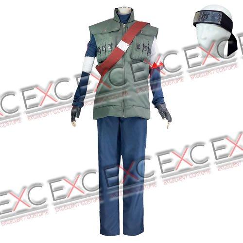 NARUTO -ナルト- はたけサクモ 風 コスプレ衣装