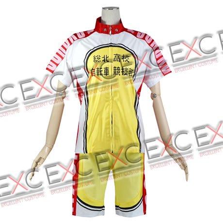 弱虫ペダル 風 総北高校自転車競技部 ユニフォーム タイプ 衣装
