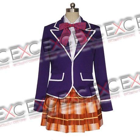 食戟のソーマ 薙切えりな(なきりえりな) 制服 風 コスプレ衣装