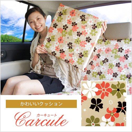 花柄のかわいいクッション(1個入り・43cm×43cm×3cm)・夢見るピンクミルクティ