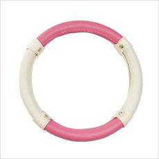 ハンドルカバー<キャンディー ピンク > お洒落な ハスラー カラー! ハスラー を含む 軽自動車すべて対応可能