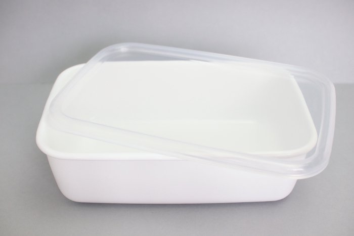 野田琺瑯/保存容器レクタングル深型L