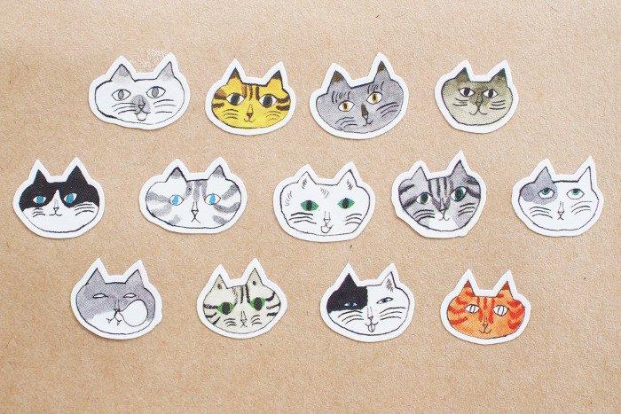 トラネコボンボン/シールロール Cat