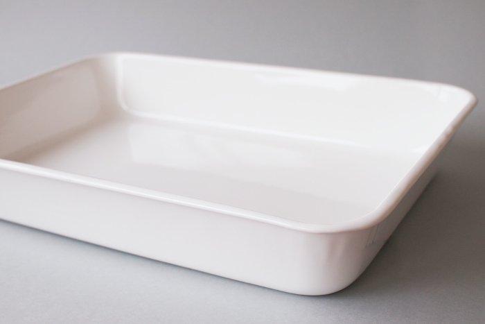 倉敷意匠×野田琺瑯/水切りかご用ほうろうトレイ