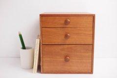 倉敷意匠/木の引き出しボックス【送料無料】