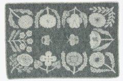 LAPUAN KANKURIT×鹿児島睦/ブランケットVILLIKUKKAグレー(65×90)
