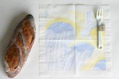 点と線模様製作所/紙ナプキン どしゃぶり(100枚セット)