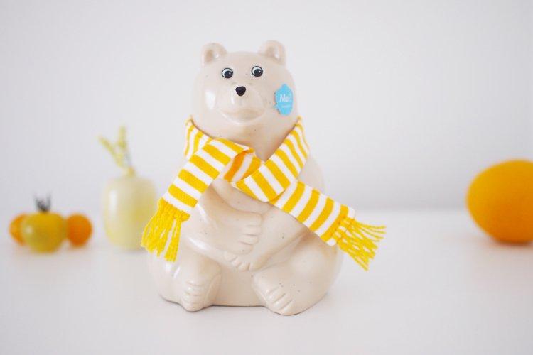 Polar Bear Money Box/シロクマ貯金箱