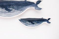 kata kata/印判手豆皿 クジラ