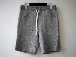 Waterside Sweat Shorts(霜降りグレー)