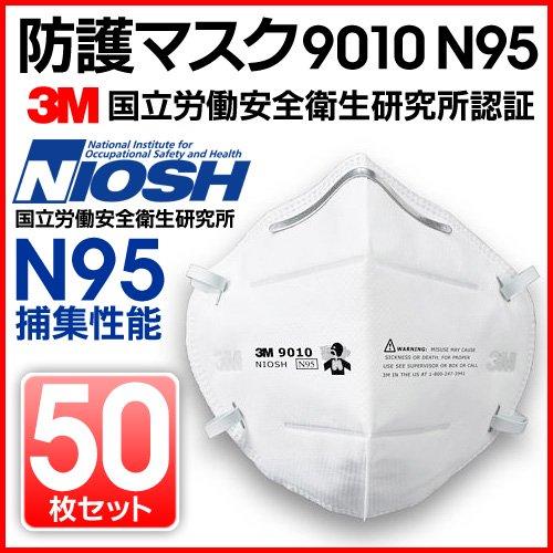 国立労働安全衛生研究所承認防護マスク 50枚セット