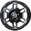 BRUT BR-66 Military Black ミリタリーブラック 7.5J17 +38 +40 +20 H5 H6<img class='new_mark_img2' src='https://img.shop-pro.jp/img/new/icons1.gif' style='border:none;display:inline;margin:0px;padding:0px;width:auto;' />