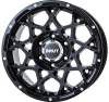 BRUT BR-55 Milled SatinBlack ミルドサティンブラック 7.5J17 +38 +40 +20  H5 H6<img class='new_mark_img2' src='https://img.shop-pro.jp/img/new/icons1.gif' style='border:none;display:inline;margin:0px;padding:0px;width:auto;' />