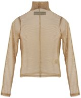 BARRAGÁN / バラガン - MESH TOP TURTLE NECK SEAMS FRONT AND ARMS (BEIGE)