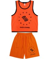 JEROME × RADD LOUNGE / ジェローム × ラドラウンジ - JEROME × RADD LOUNGE BASKETBALL SETUP  (ORANGE)<img class='new_mark_img2' src='//img.shop-pro.jp/img/new/icons2.gif' style='border:none;display:inline;margin:0px;padding:0px;width:auto;' />
