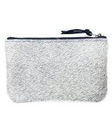 PRIMECUT / プライムカット - MEDIUM POUCH (LIGHT GREY COWHIDE) 40%OFF→50%OFF<img class='new_mark_img2' src='https://img.shop-pro.jp/img/new/icons16.gif' style='border:none;display:inline;margin:0px;padding:0px;width:auto;' />