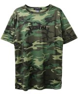 VENOM&#174; / ヴェノム - WOODLAND CAMO T-SHIRT (CAMO)<img class='new_mark_img2' src='//img.shop-pro.jp/img/new/icons2.gif' style='border:none;display:inline;margin:0px;padding:0px;width:auto;' />