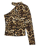 MADD LOUNGE / マッドラウンジ - LEOPARD ONE SHOULDER (LEOPARD)